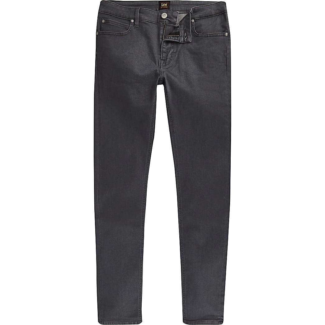 Lee grey Malone skinny fit jeans