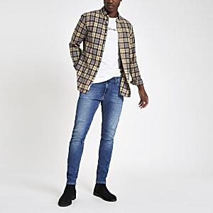 Lee – Malone – Hellblaue Skinny Fit Jeans