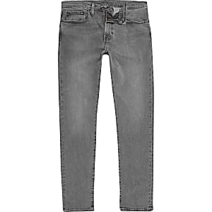 Levi's grey 512 slim taper fit jeans