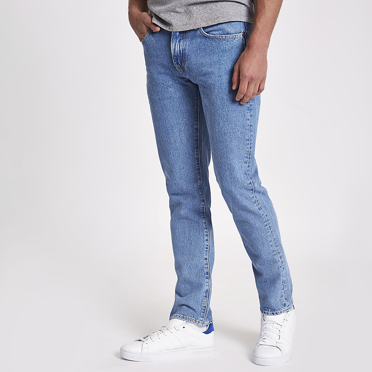 Levi's 511 - Lichtblauwe slim-fit jeans