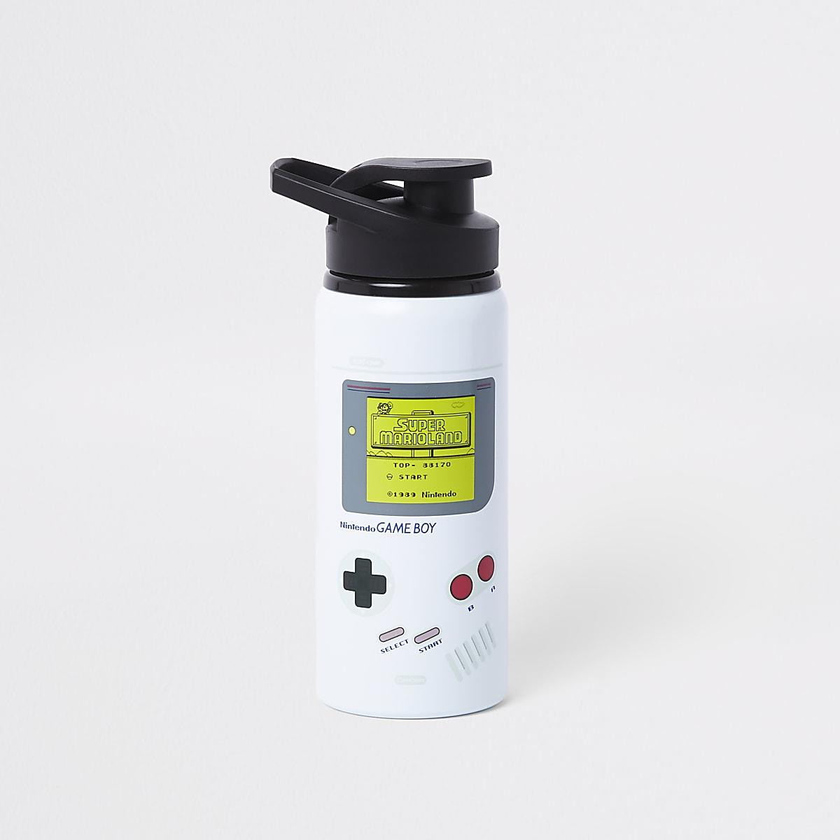 Grey Gameboy water bottle