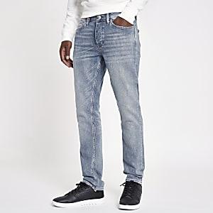 Hellblaue Slim Fit Jeans