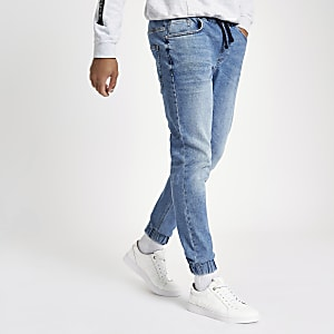 Ryan - Middenblauwe joggingjeans