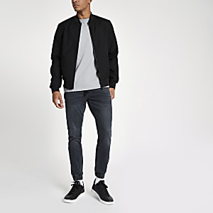 Ryan - Donkerblauwe wash joggingjeans