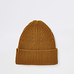 Bonnet pêcheur jaune