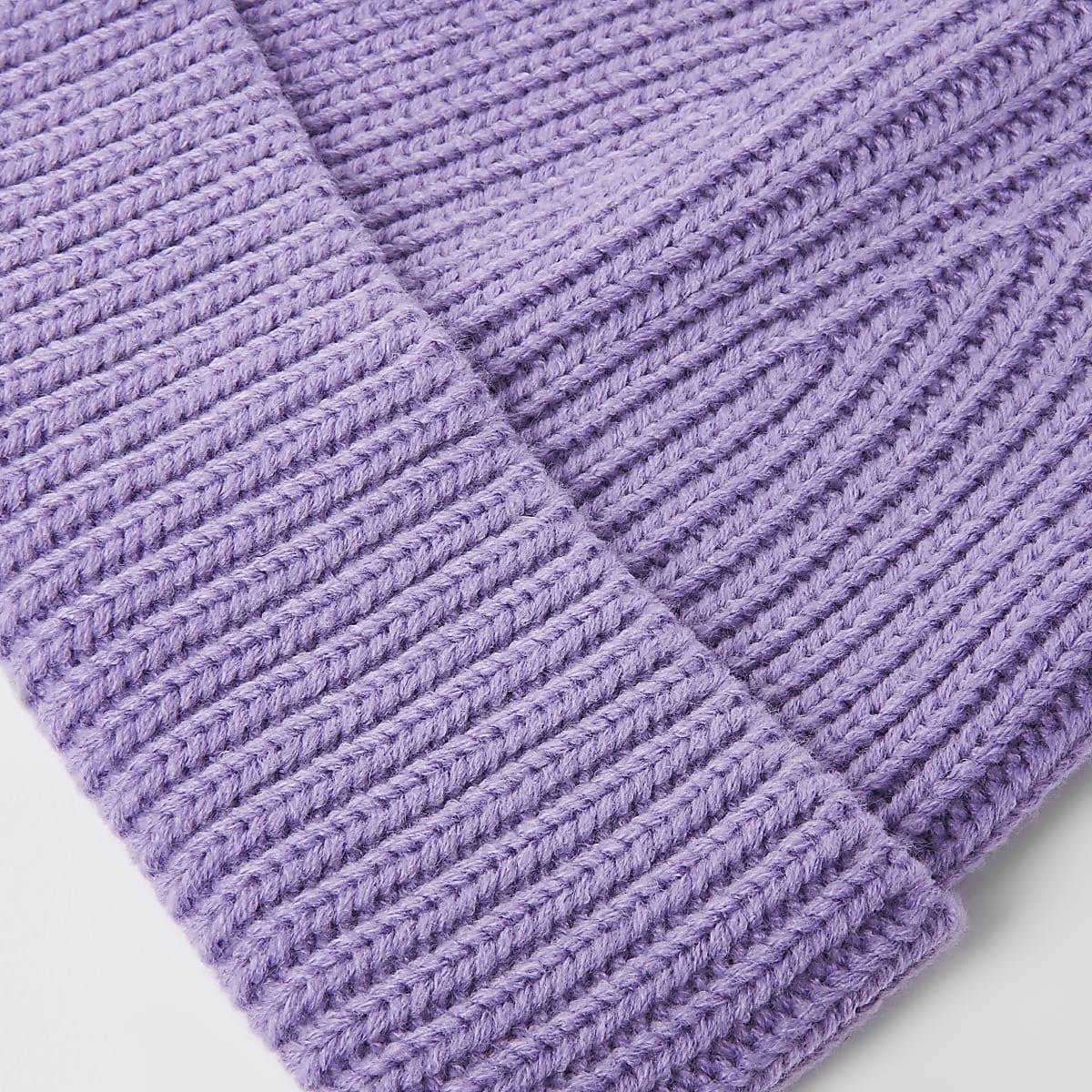b55c8b25453 Purple fisherman beanie hat - Hats   Caps - Accessories - men