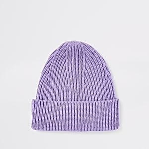 Bonnet de pêcheur violet
