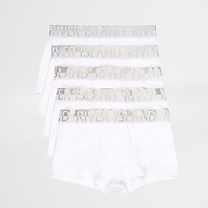 White and silver RI hipster 5 pack