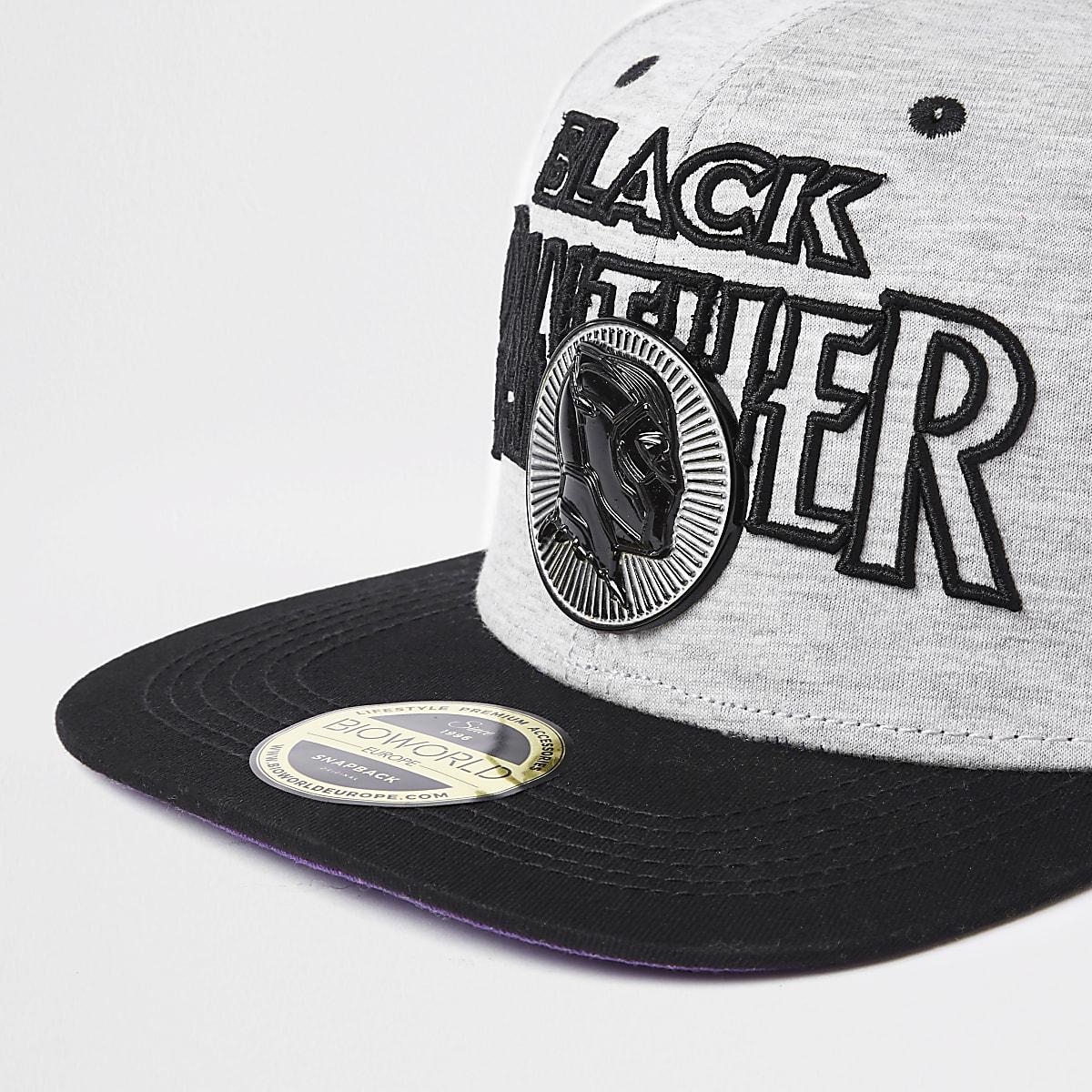 5a2a3fe59 Grey 'Black Panther' snapback cap