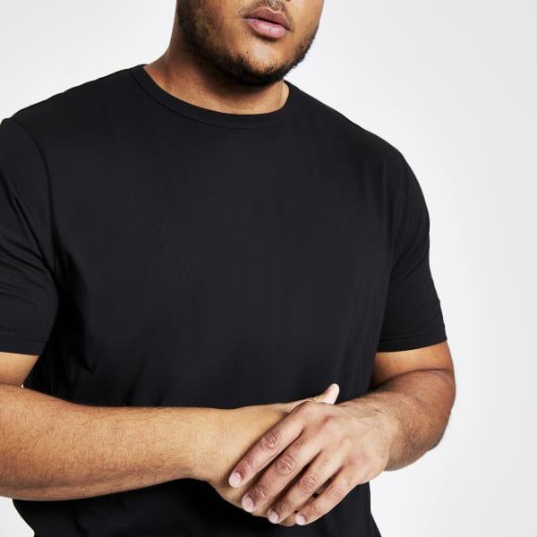 River Island - big & tall – t-shirt  à ourlet - 3