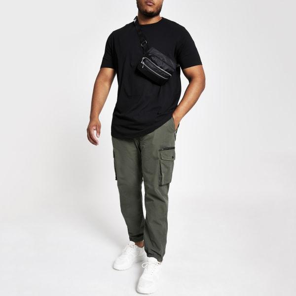 River Island - big & tall – t-shirt  à ourlet - 2