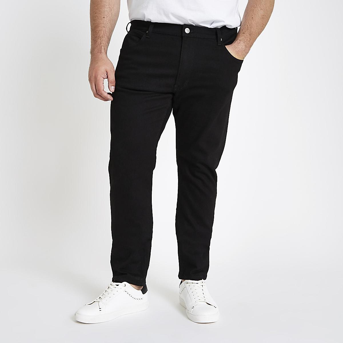 Lee Big and Tall black Luke jeans