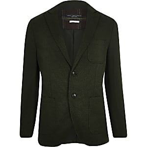 Jack & Jones Premium green blazer