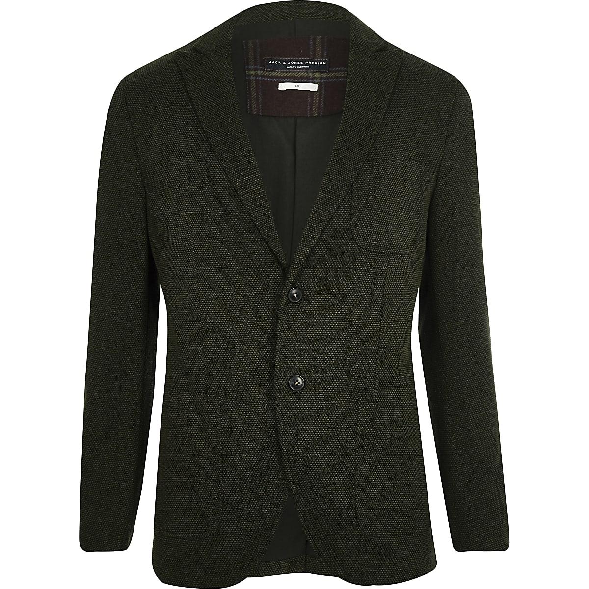 Jack & Jones Premium – Grüner Blazer