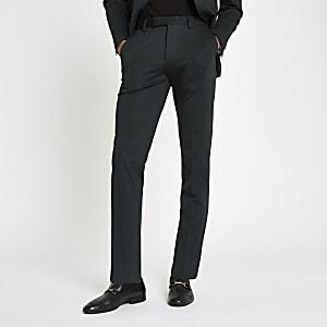 Jack & Jones green slim fit suit pants