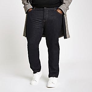 Big and Tall – Jean fuselé bleu foncé