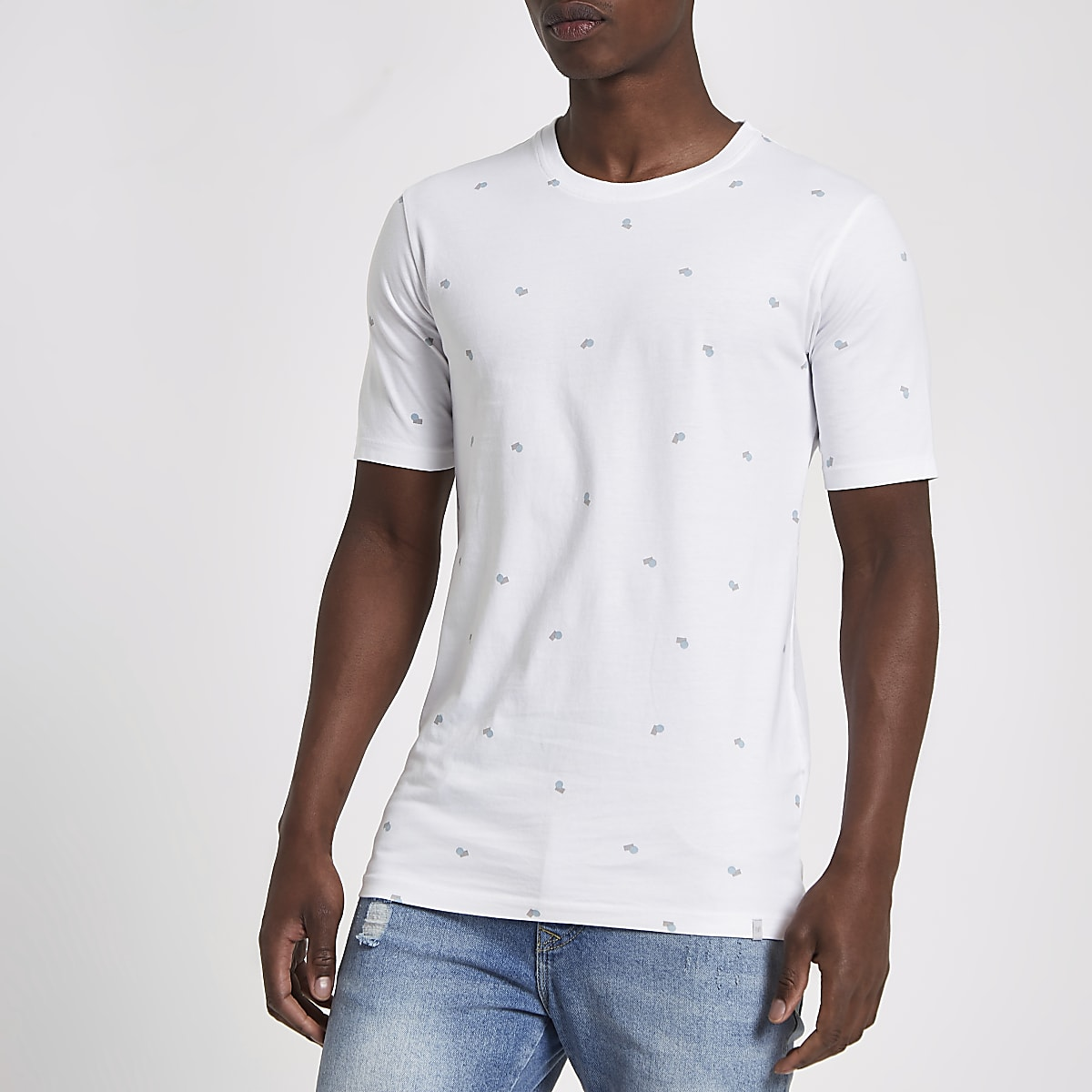 Minimum white print T-shirt
