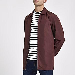 Minimum red lightweight jacket