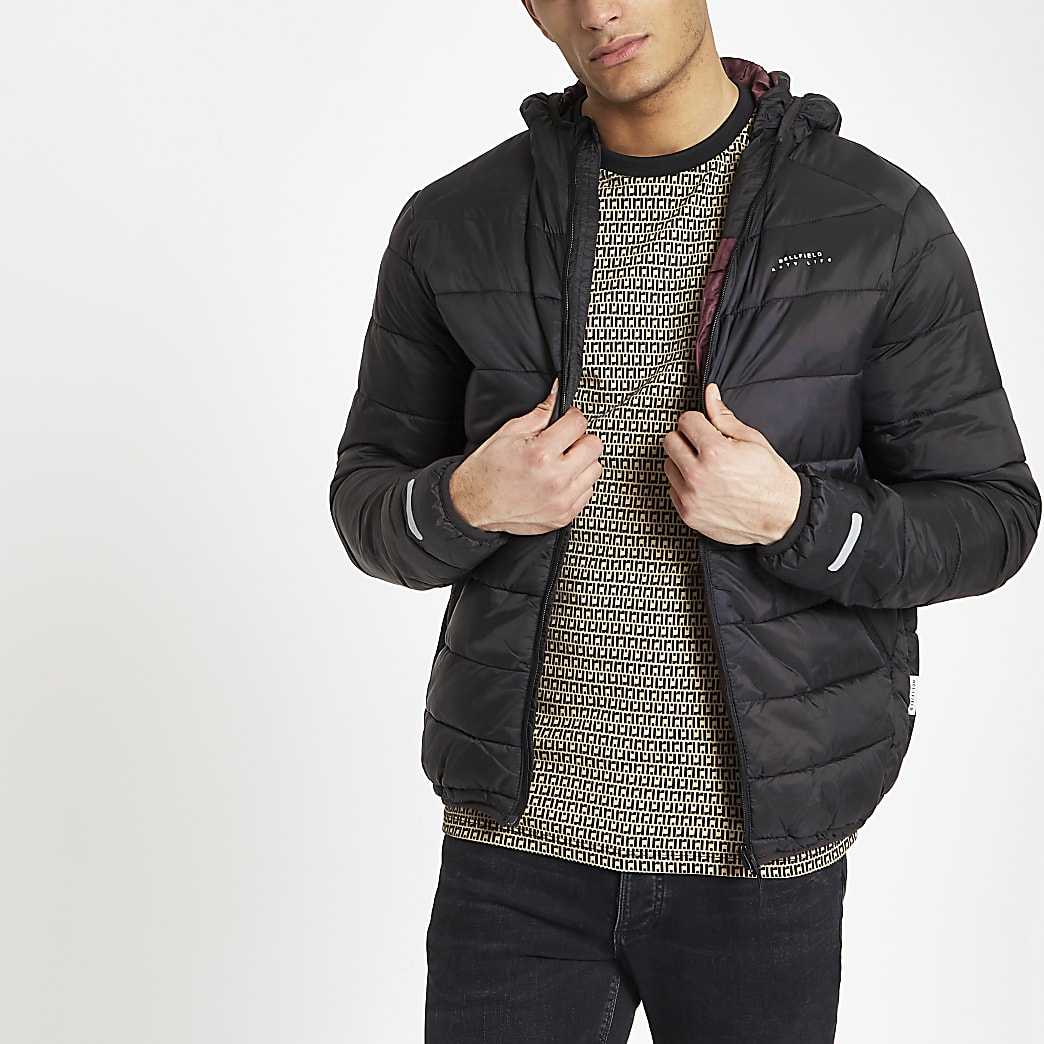 Bellfield black puffer jacket