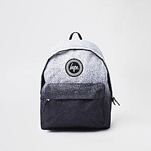 Hype – Grauer Rucksack in ausgebleichter Optik