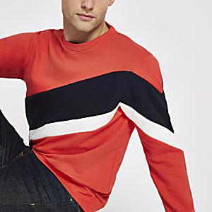 Jack & Jones red block sweatshirt