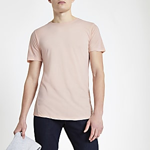 Jack & Jones Premium pink T-shirt
