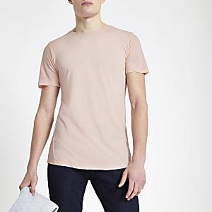 Jack & Jones - Premium roze T-shirt