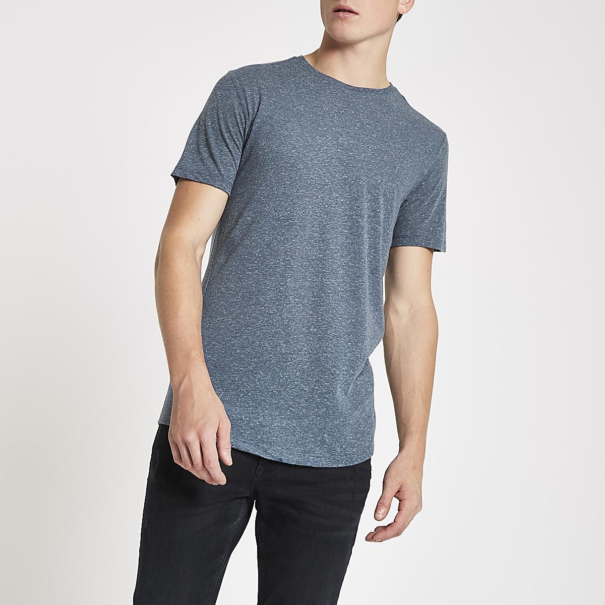 Jack & Jones navy blue Premium T-shirt