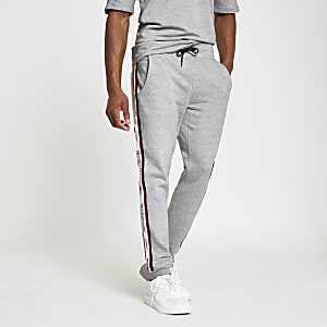 Jack & Jones – Graue Jogginghose