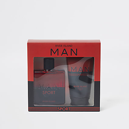 Red RI Man Sport shower gel and fragrance set