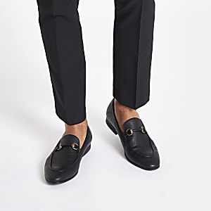 621441c2c20 Black snaffle loafers