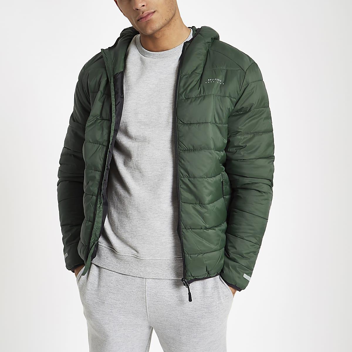 Jacket Bellfield Puffer Jacket Green Green Bellfield Puffer nwNOv8ym0P