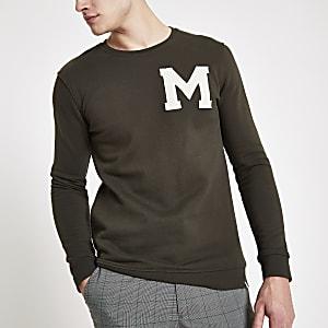 Minimum green logo print sweatshirt
