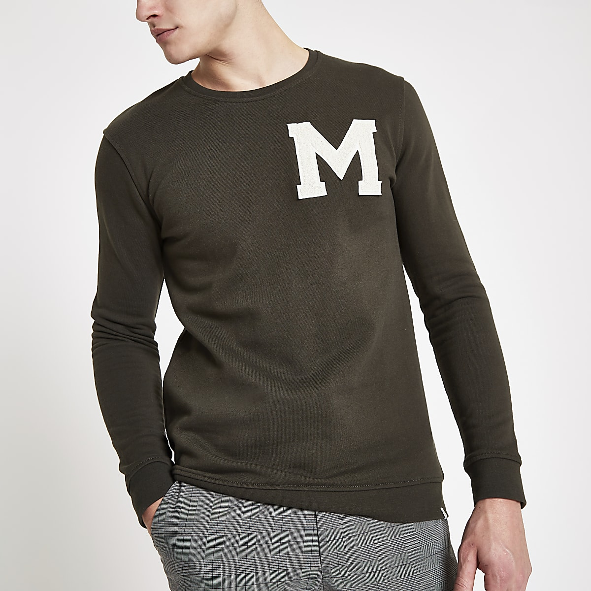 Minimum green logo print sweatshirt