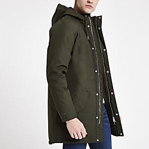 Minimum green parka jacket