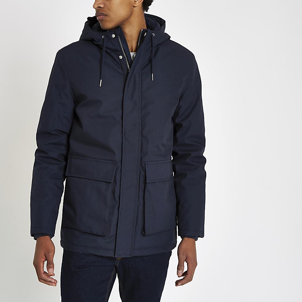 Minimum navy parka jacket