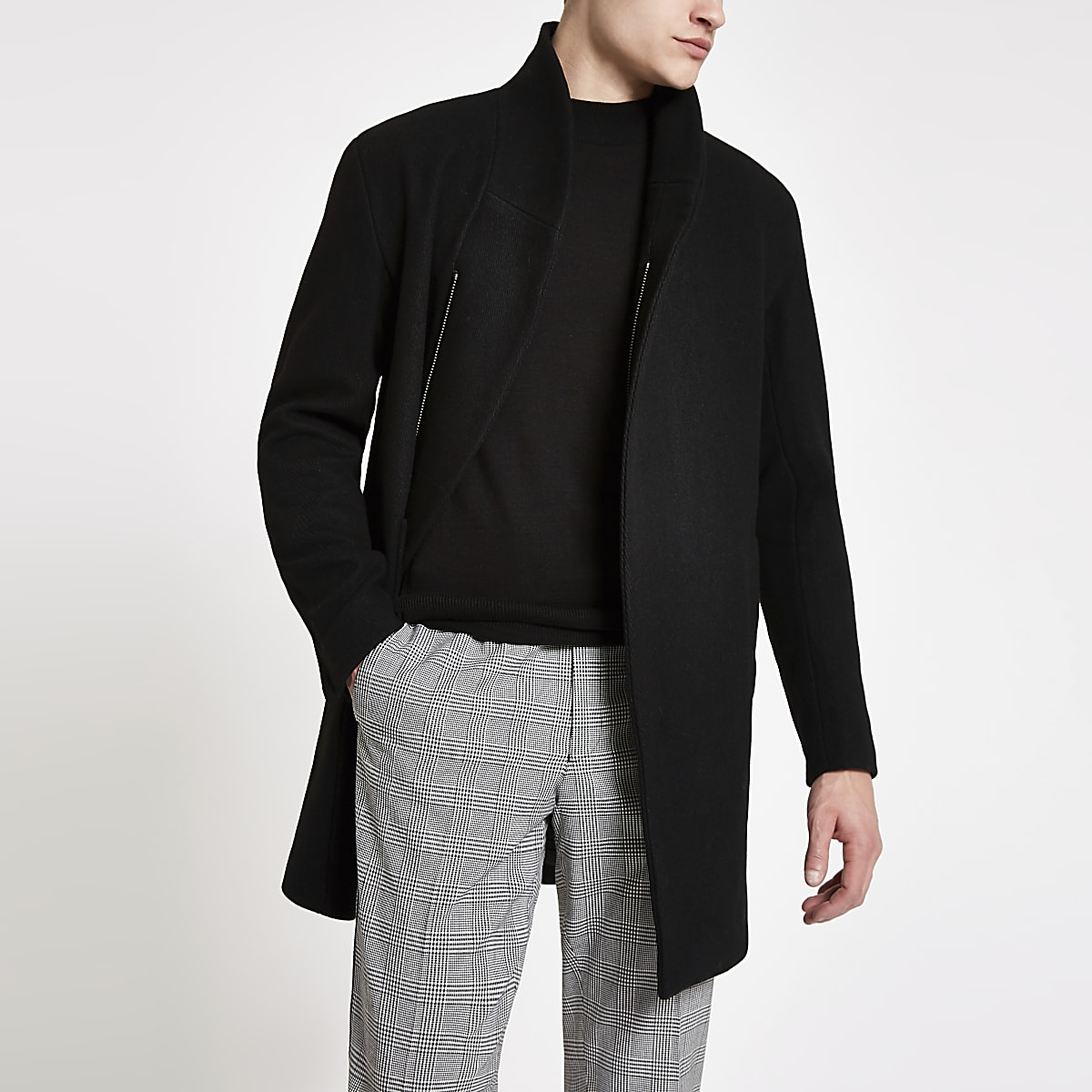 Minimum Allston - Zwarte klassieke jas
