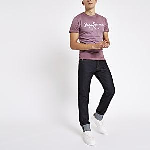 Pepe Jeans – Stanley – Dunkelblaue Jeans