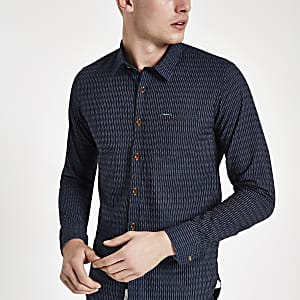 Pepe Jeans – Chesterfield – Chemise bleue