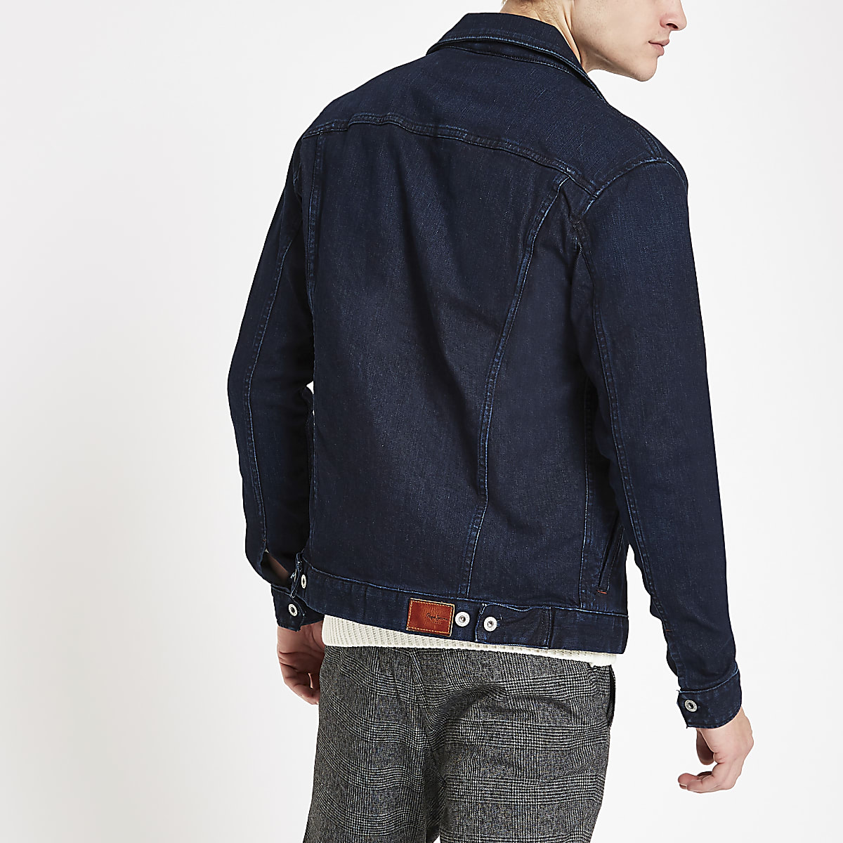 f50cff74f5dc Pepe Jeans dark blue denim jacket - Jackets - Coats & Jackets - men