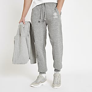 Franklin & Marshall grey fleece joggers