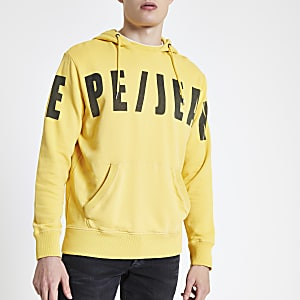 Pepe Jeans - Gele hoodie