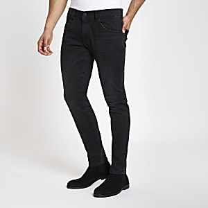 Wrangler – Bryson – Schwarze Skinny Jeans