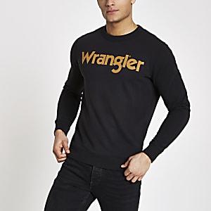 Wrangler – Sweat noir