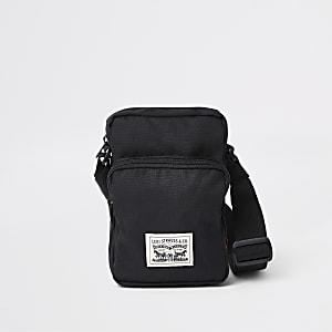 Levi's – Schwarze Mini-Umhängetasche