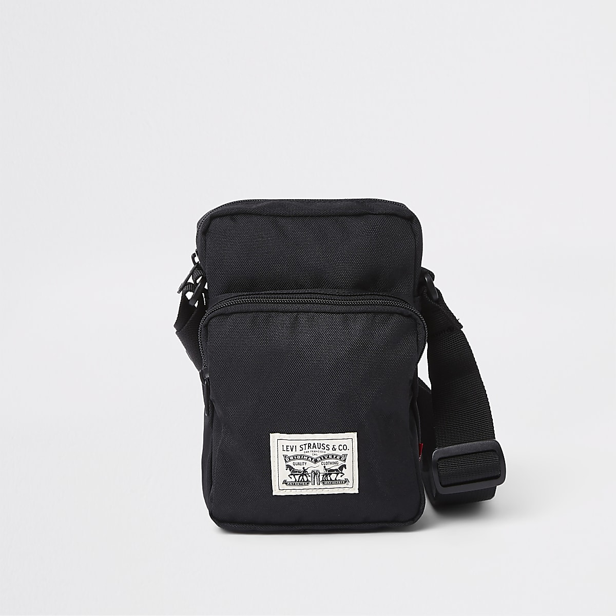 Levi's black mini cross bodyflight pouch
