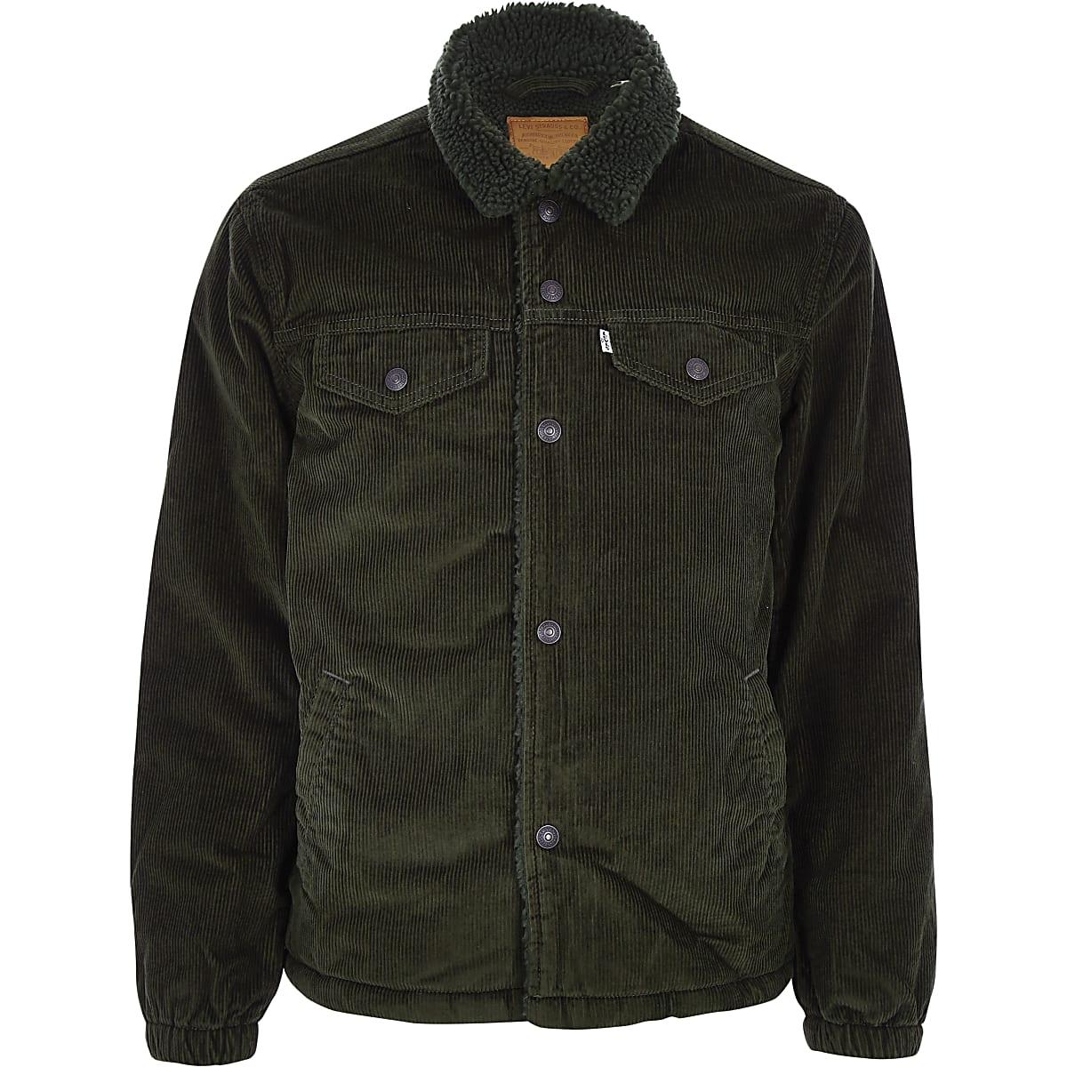 8198e249a8da Levi's khaki cord trucker jacket - Jackets - Coats & Jackets - men