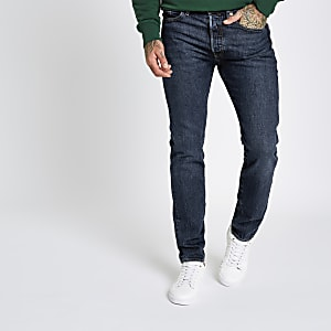 Levi's – Jean skinny 501 bleu