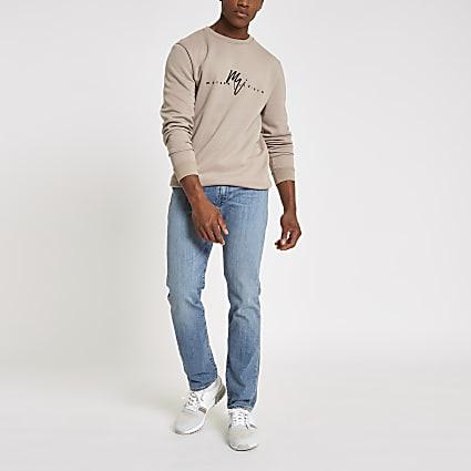 Levi's blue 511 slim fit fade jeans