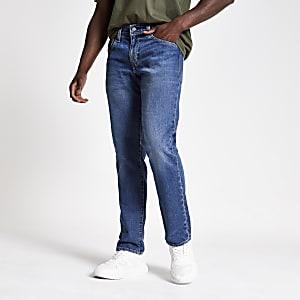 Levi's - Jean slim 511 en denim bleu